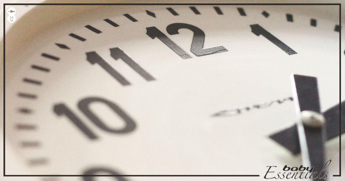 reloj reducción jornada laboral